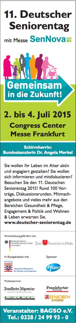 Deutscher Seniorentag Banner