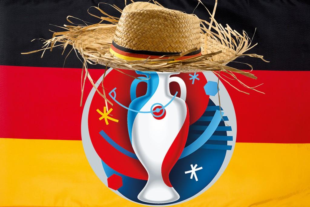 Fussball EM 2016 (Deutschlandfahne)