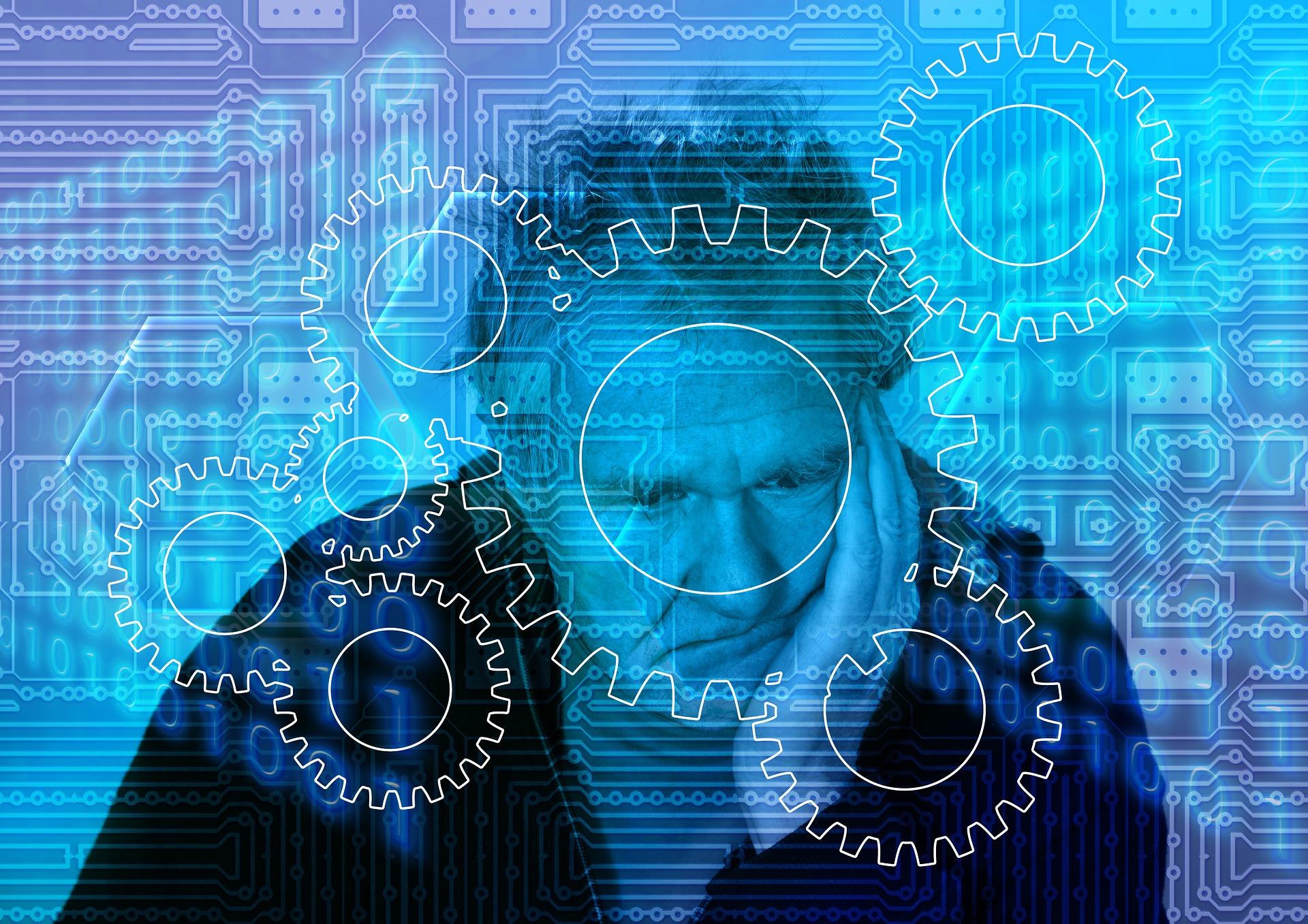 Mann digitaler Nachlass