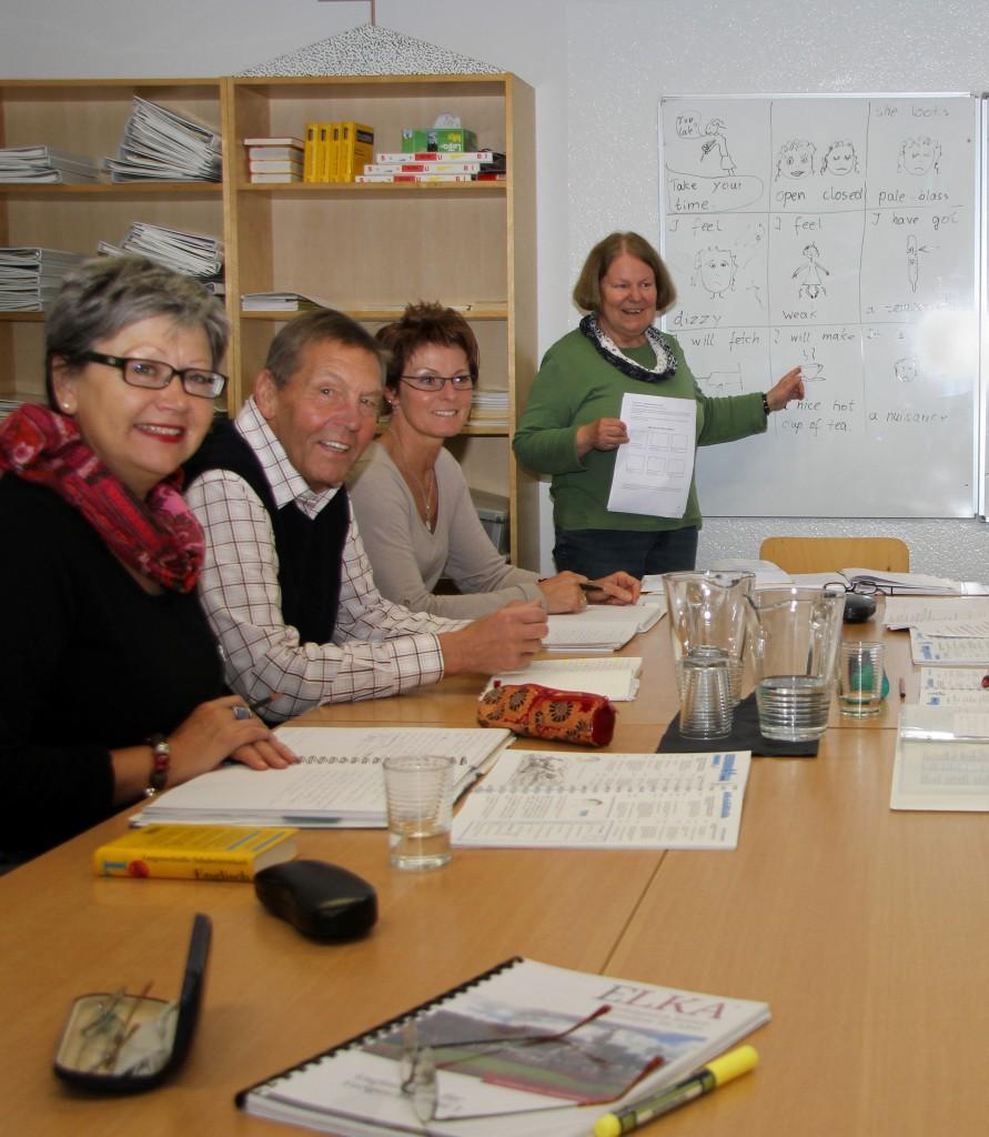 Englischunterricht für Senioren