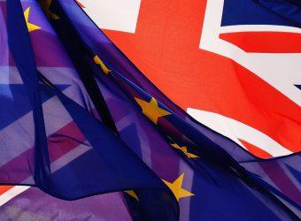 Fahne EU GB
