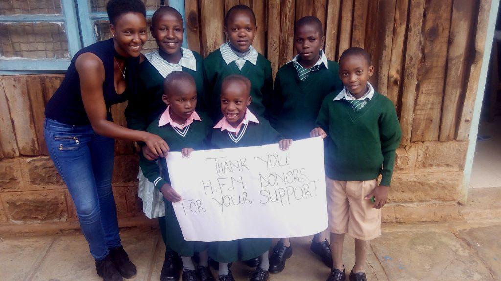 Kinder von Hilfe für Nyeri e.V.