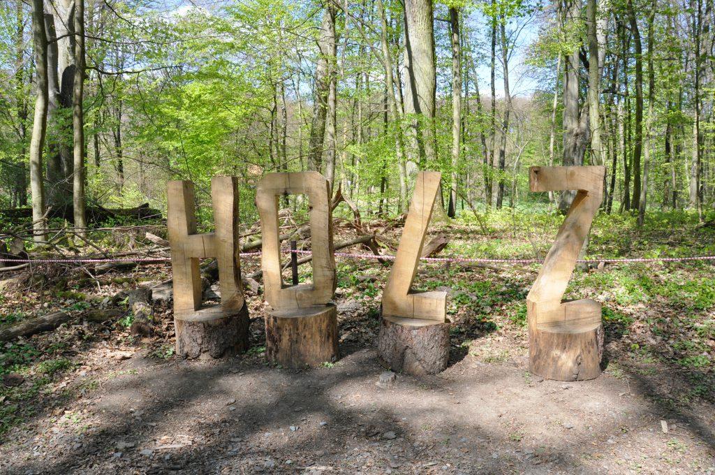 Holz - Tiergarten Weilburg